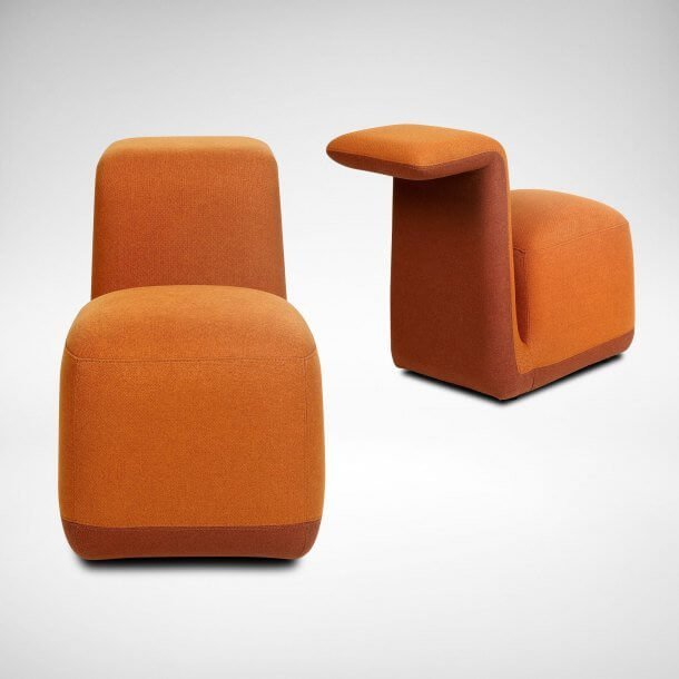 Attractive One Seater Mini Stools for Office Spaces - Comfort Furniture