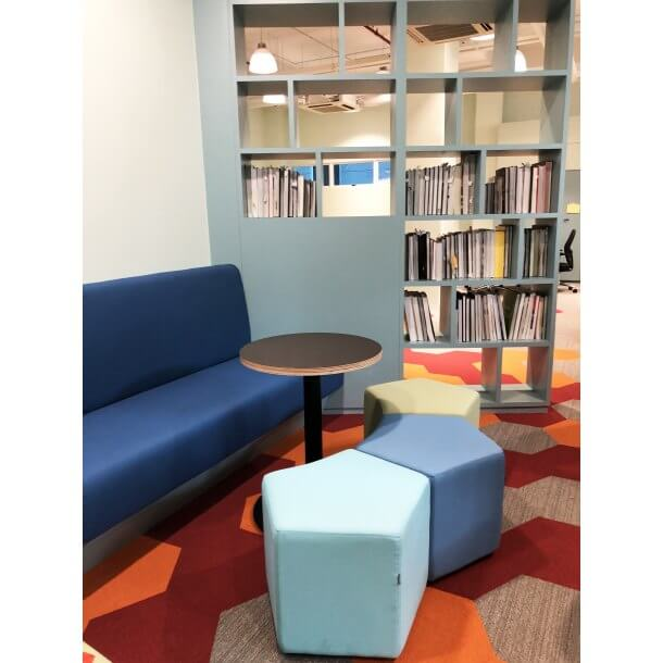 Chilling and Leisuring Space inside Office - Comfort Furniture