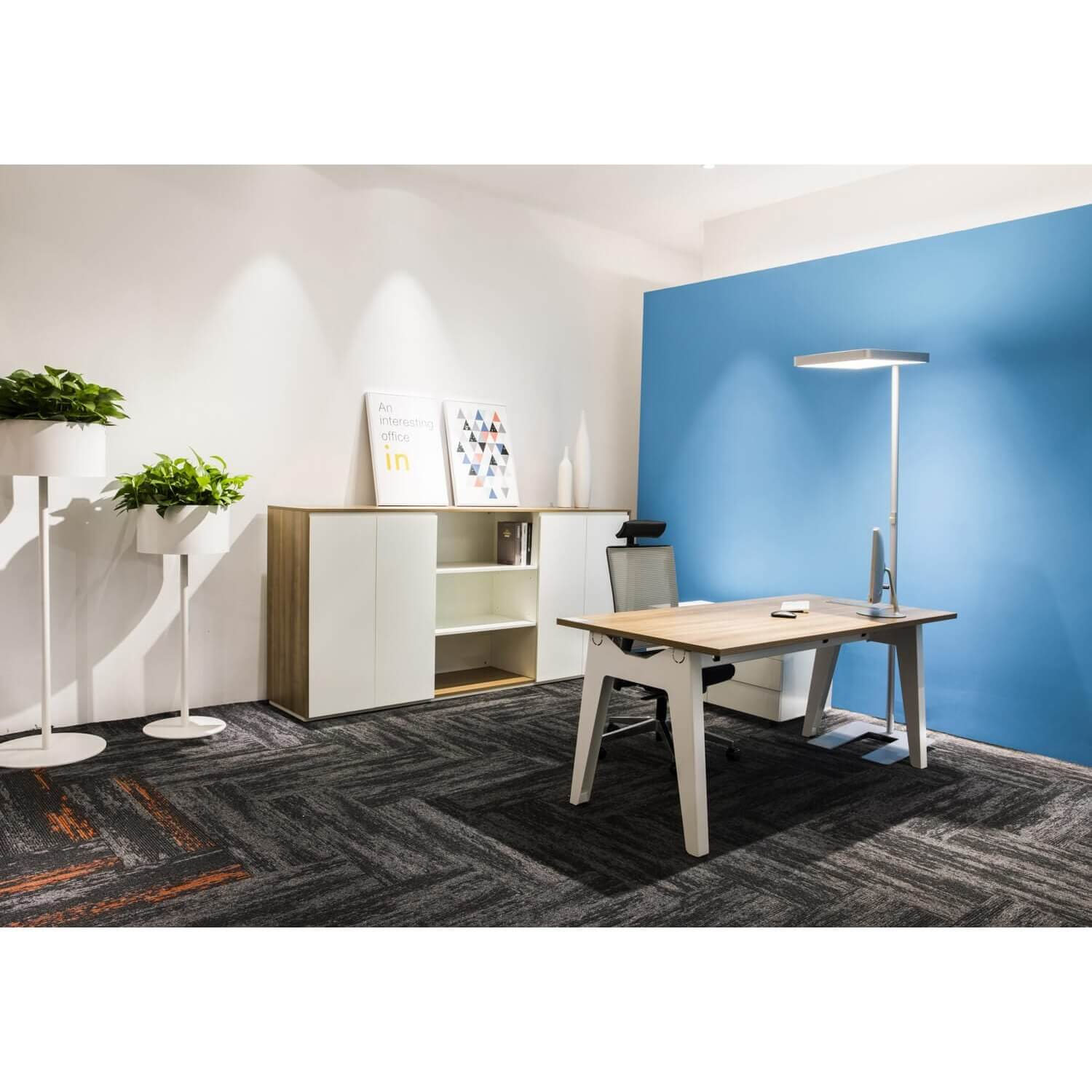 Solo Working Space Layout - Comfort Furniture