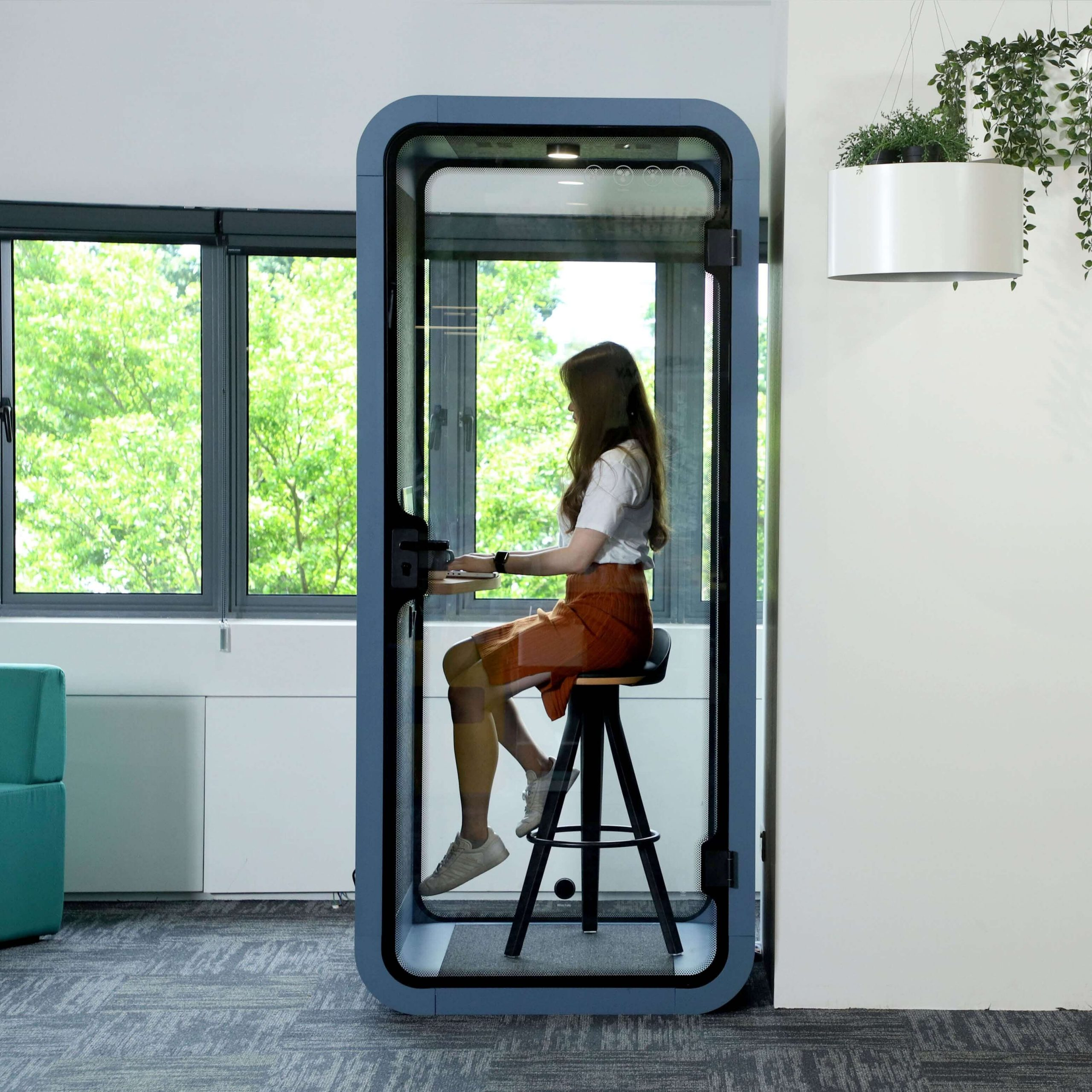 Flight Pod for Added Privacy in Coworking Space - Comfort Furniture