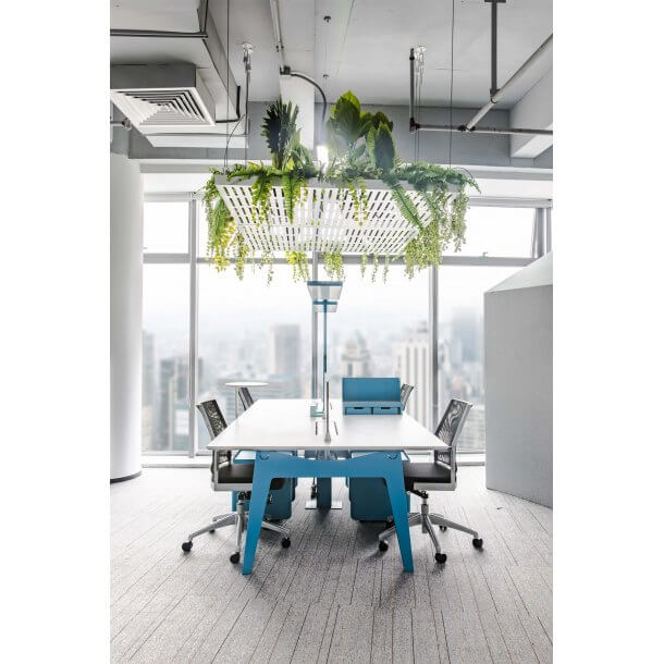 Vibrant Coloured Office Layout - Comfort Furniture