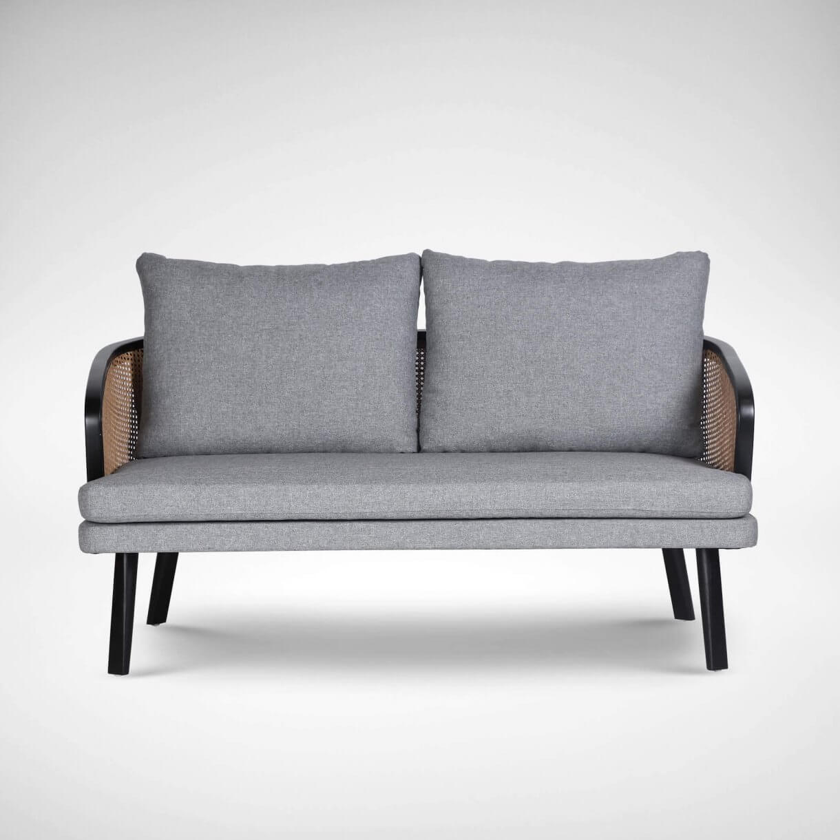 Add a Touch of Vintage Feel with 2-Seater Rafael Rattan Sofa - Comfort Furniture