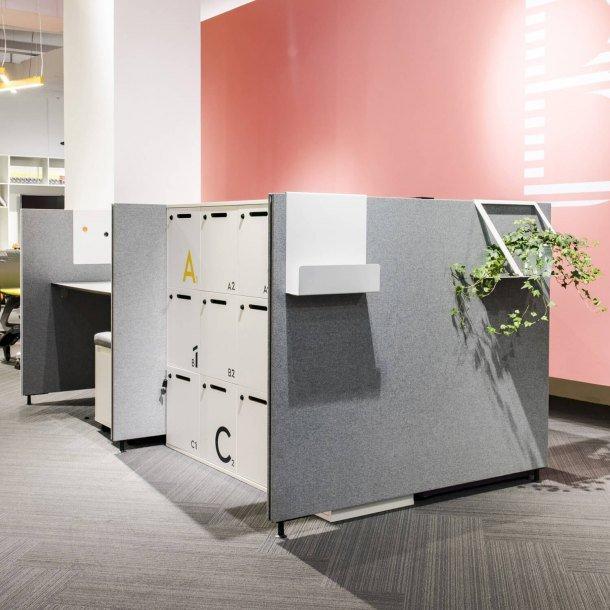 Easily Organisable Storage Locker for Office - Comfort Furniture