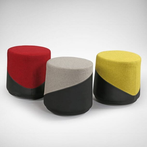Mini Stools for Fun Inspired Office Look - Comfort Furniture