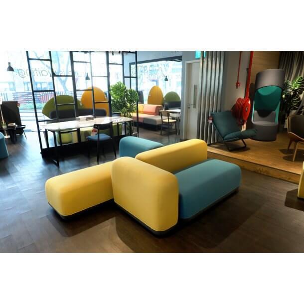 Striking Coloured Zone Modular Sofa Series - Comfort Furniture