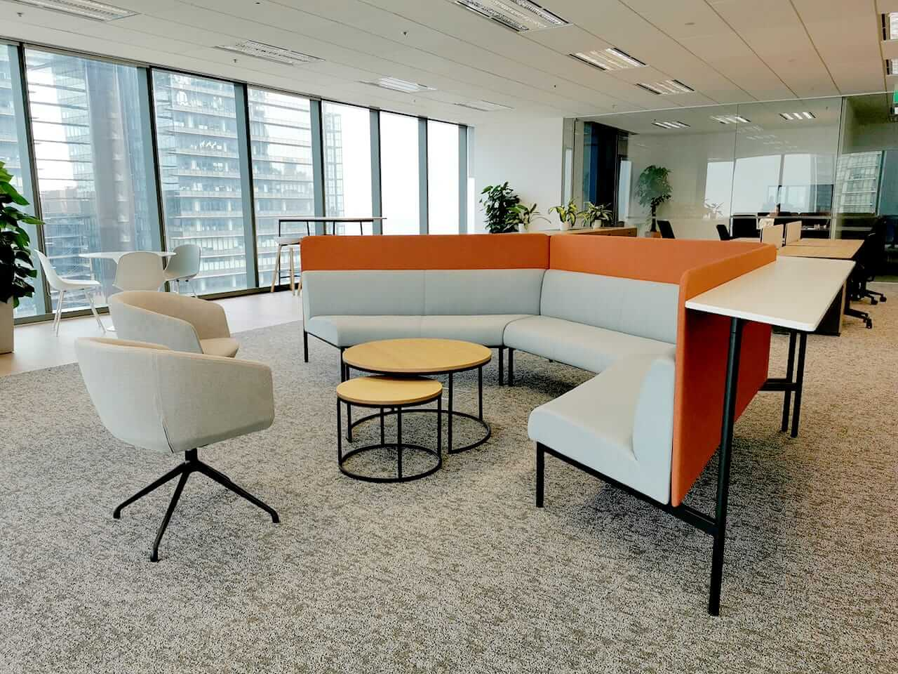 High Back Sofas Suitable for Work Discussions - Comfort Furniture
