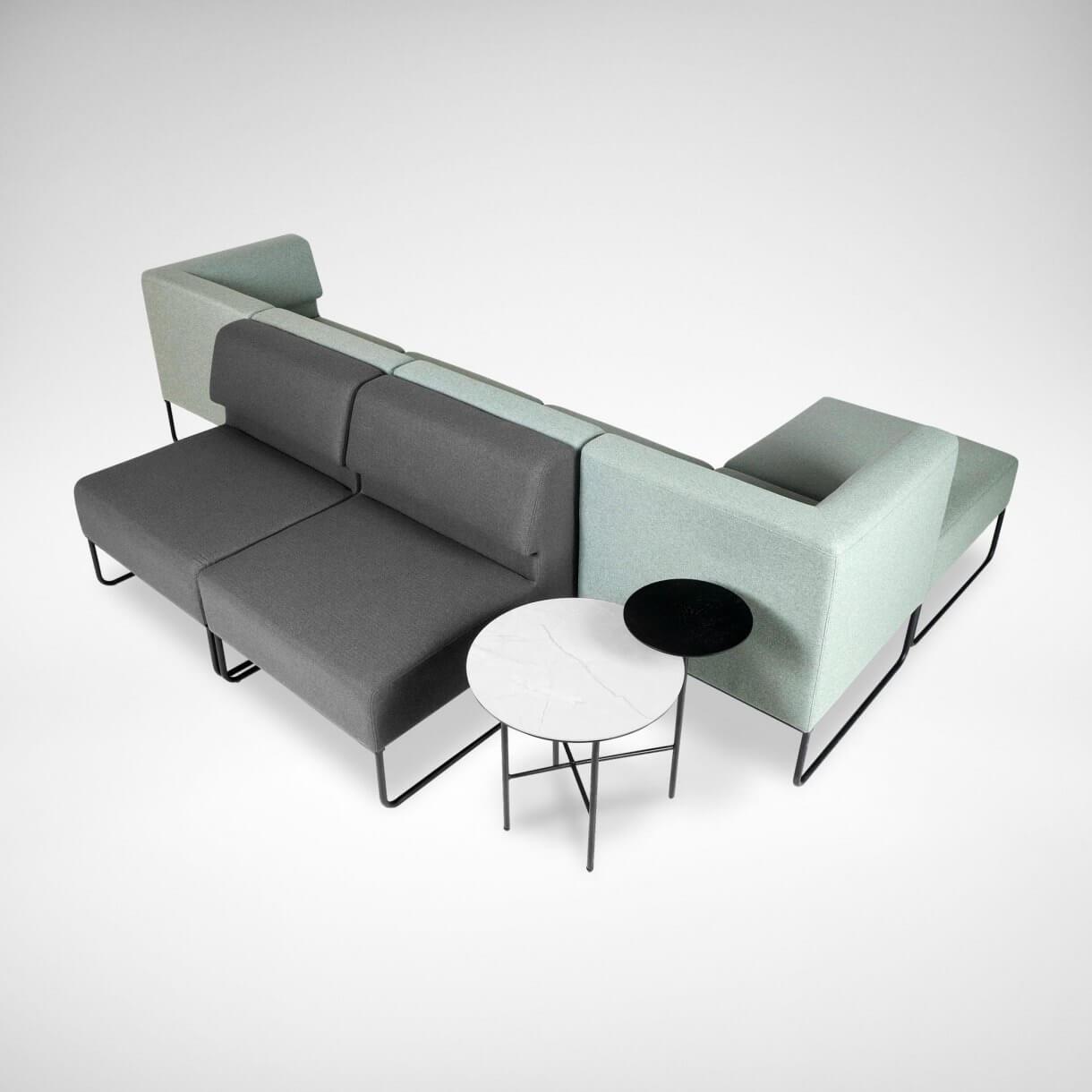 Sofa Arrangement Ideas for the Office Recreation Area - Comfort Furniture