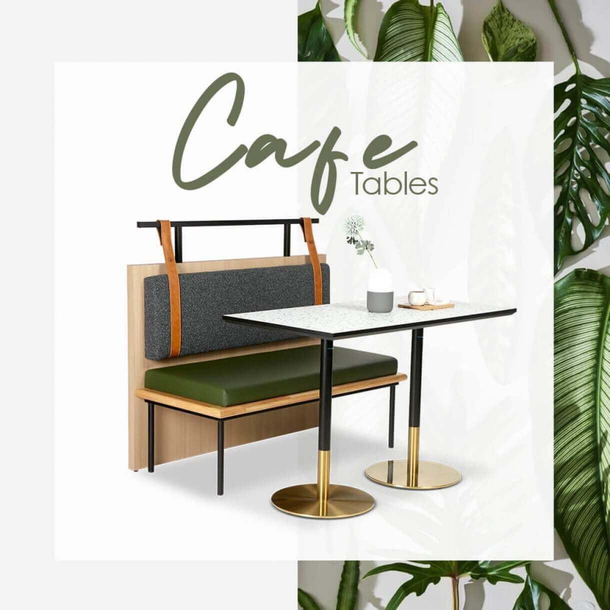 Ideas on Arranging Cafe Tables with Safe Distance - Comfort Furniture