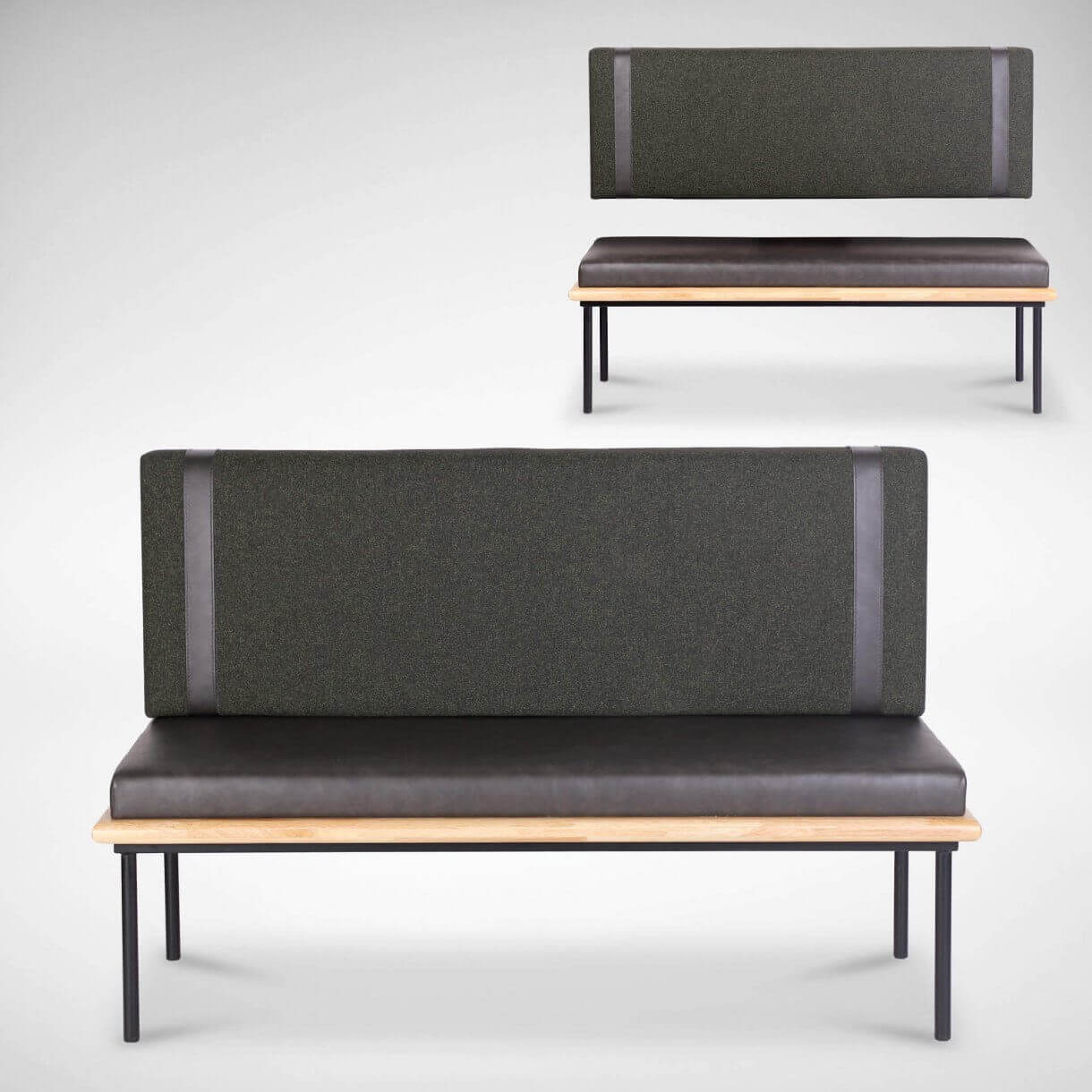 Consider Booth Furniture with Detachable Seats for Easy Cleaning - Comfort Furniture