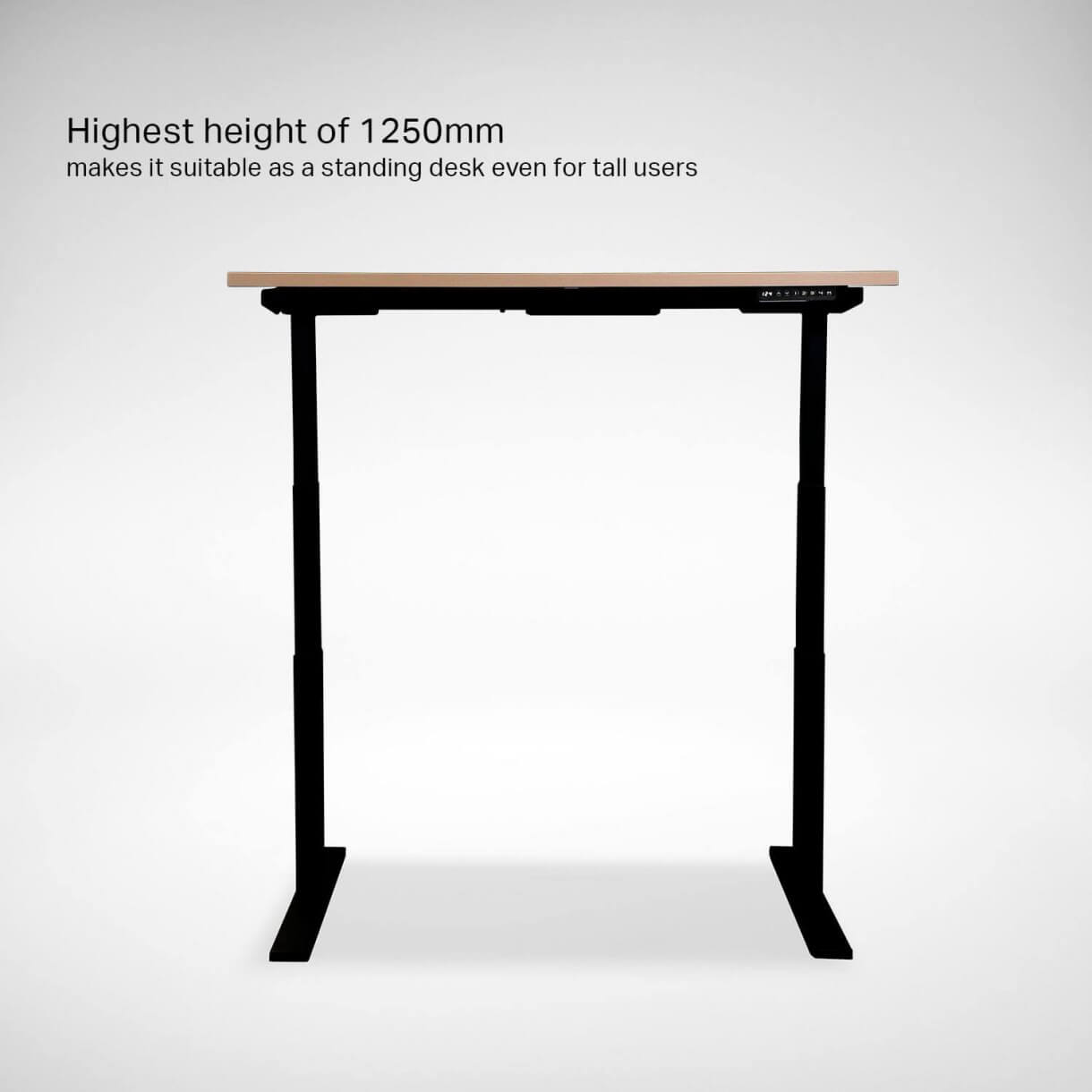 Office Table with Adjustable Heights for Tall Users - Comfort Furniture