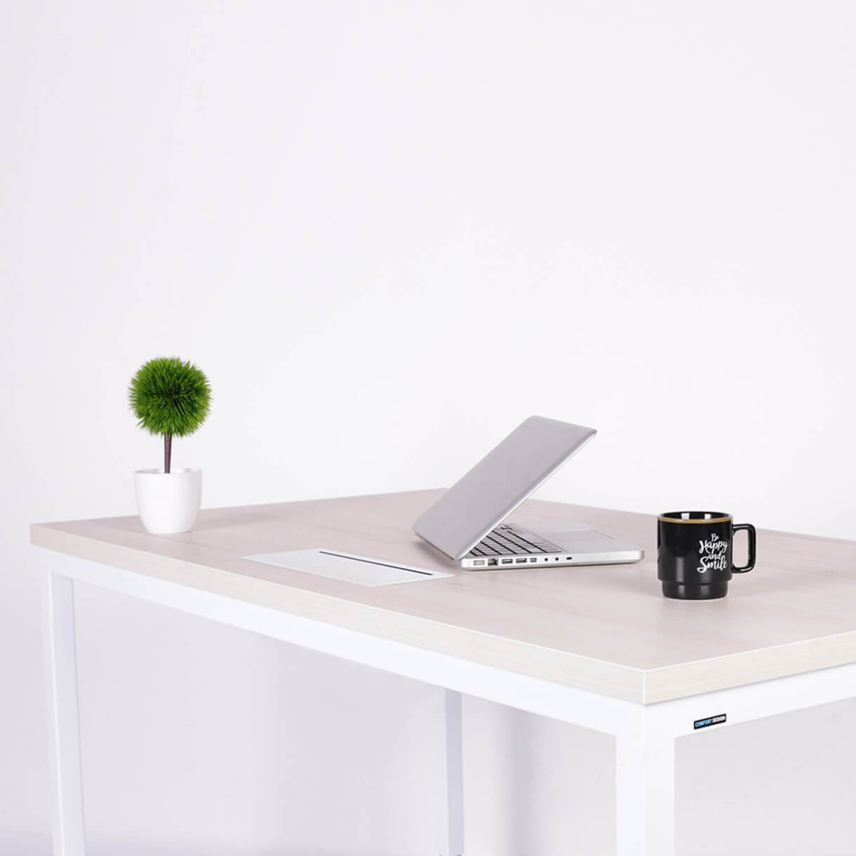 Stay Organised with Office Table that Comes with Cable Management Feature - Comfort Furniture