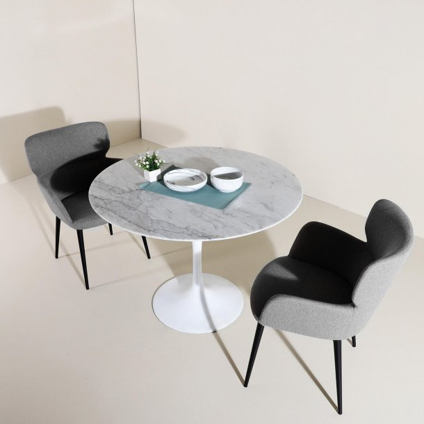 Round Dining Table is Suitable for a More Intimate Gathering while Maximising Seating Space - Comfort Furniture