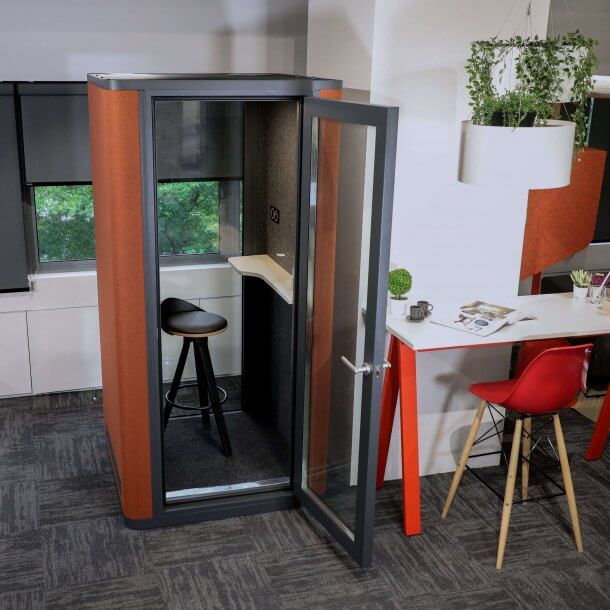How to Style Office Privacy Pods using Different Furniture Items - Comfort Furniture