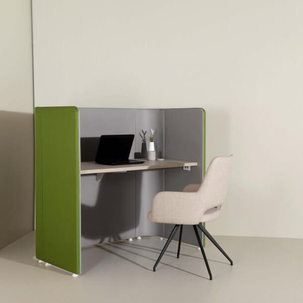Office Focus Pod and Matching Armchair - Comfort Furniture