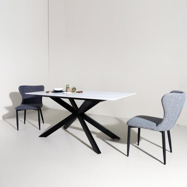 The New Dining Room Furniture Trend - Sintered Top Dining Table - Comfort Furniture