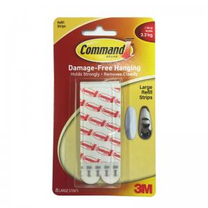 3M Command Large Refill Strips (17023P-8PK)