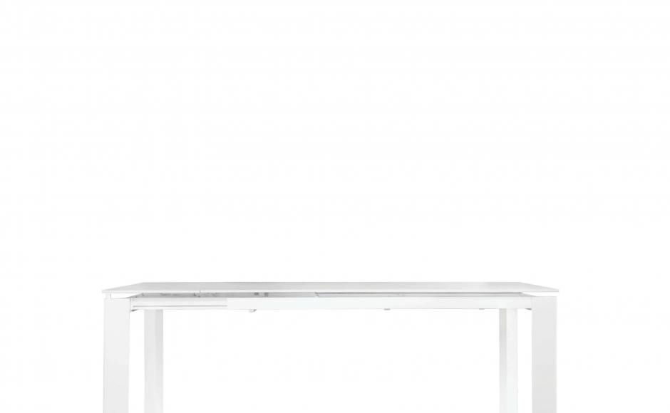 To extend table: (1) Pull leg outwards towards self