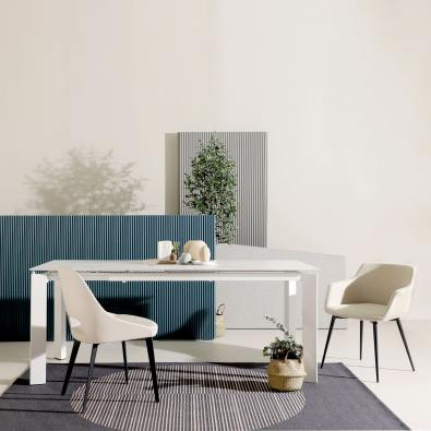 Etoile Extendable Dining Table – W1500/1900 (Sintered)