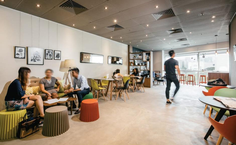 Work Central - Singapore Shopping Centre | Products Seen: [Cupcake stool, Clove Coffee Table, Secret 2.5 Seater Sofa, Tripod Dining Table, Argo – PP + Tower Chair, Rago Barstool, Junko Dining Table Round, Astro 1 & 2 Seater Sofa]