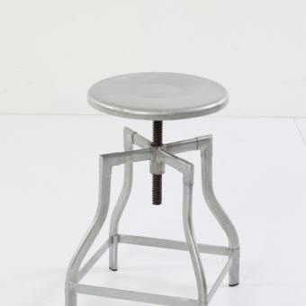 Industrial Stool / Bar Stool – Galvanised