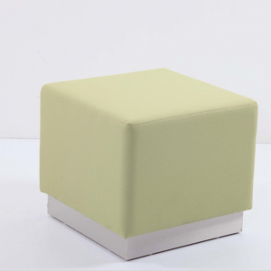 Pouf Square – Stainless Steel Plate Stool