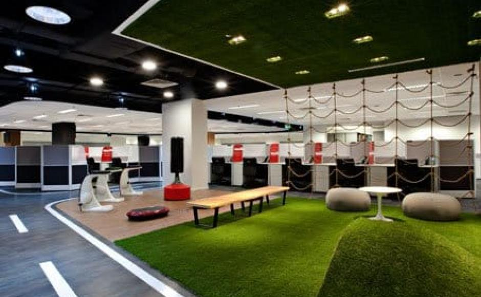 Singtel Com Centre - Somerset | Products seen: [Nelson Bench, Pebble & Megan Coffee Table]