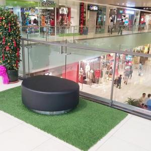 Pouf Oval – Stainless Steel Plate