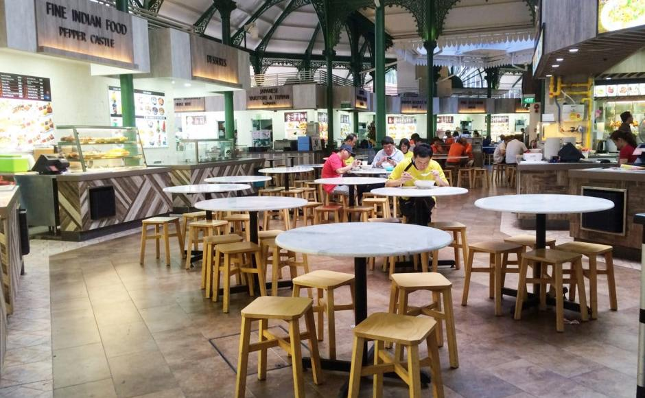 Kopitiam - Lau Pa Sat | Products Seen: [Tang Stool - Square]<br />