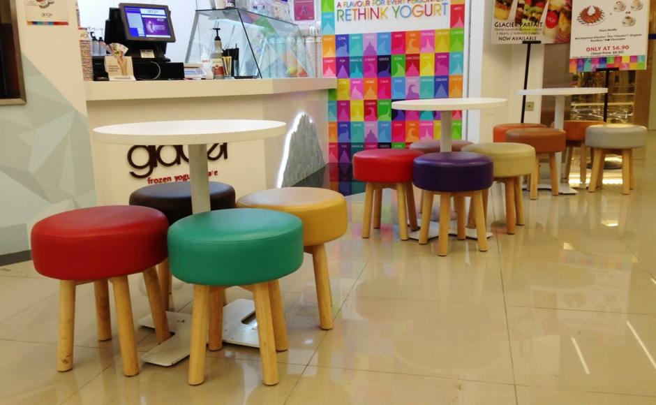 Glacier Yogurt - Orchard Gateway | Products Seen: [Tapioca Stool]<br />
