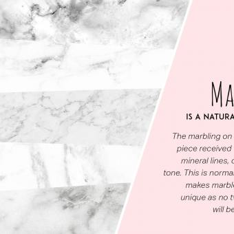 Zola Coffee Table – Marble