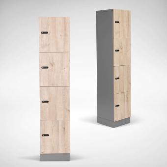 Dolt 4-tier Melamine Locker