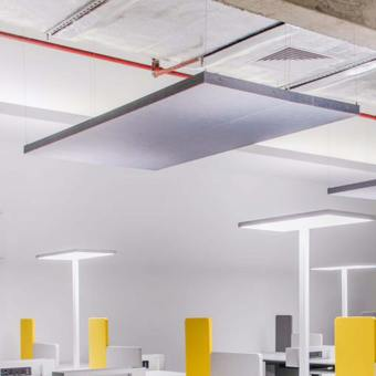 Hover Ceiling Hanging Acoustic Partition