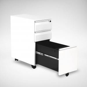 Dan Mobile Pedestal - 2 Drawers - Mini Size