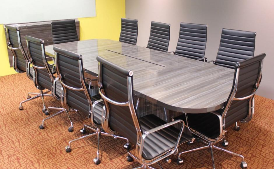 E8 Pte Ltd - Changi Business Park | Product Seen: [Eam Aluminium Highback (Replica) Office Chair]