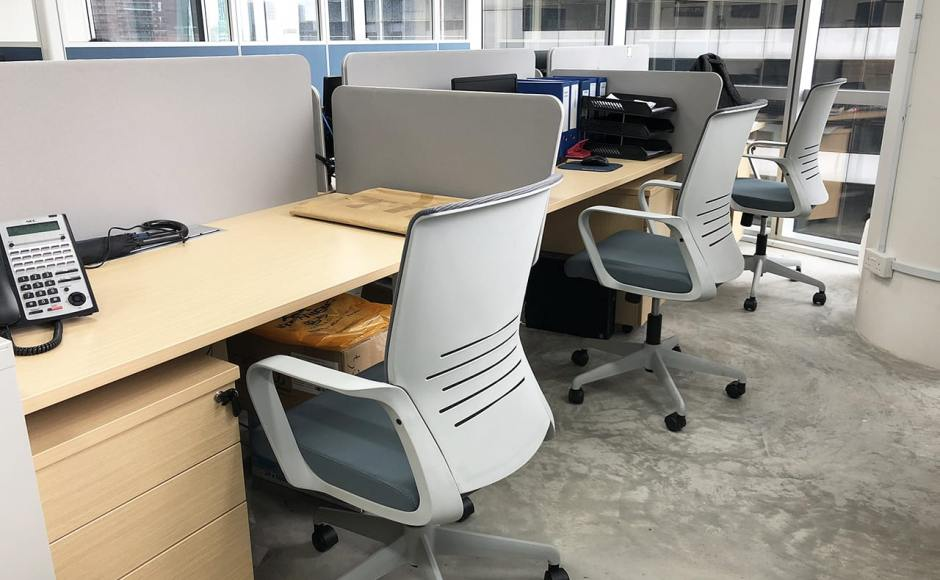 Dimbulah HQ Office - Oxley Tower | Product Seen: [Eloyd Midback Office Chair]