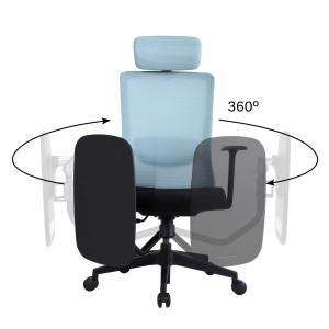 Rita Tablet Highback Office Chair