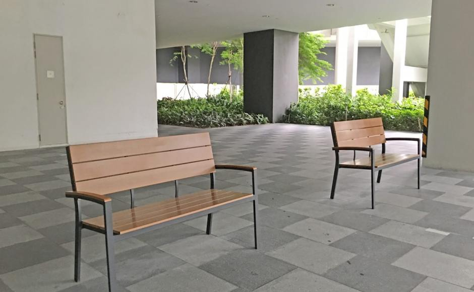 Aperia | Product Seen: [Fossil Outdoor Bench – Highback]