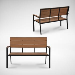 Fossil Outdoor Bench – Highback