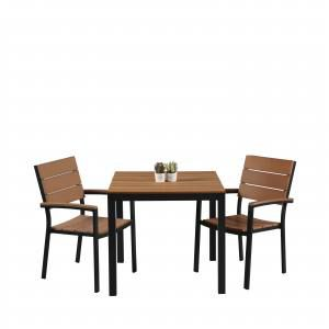 Fossil Square Outdoor Dining Table - Bundle 1