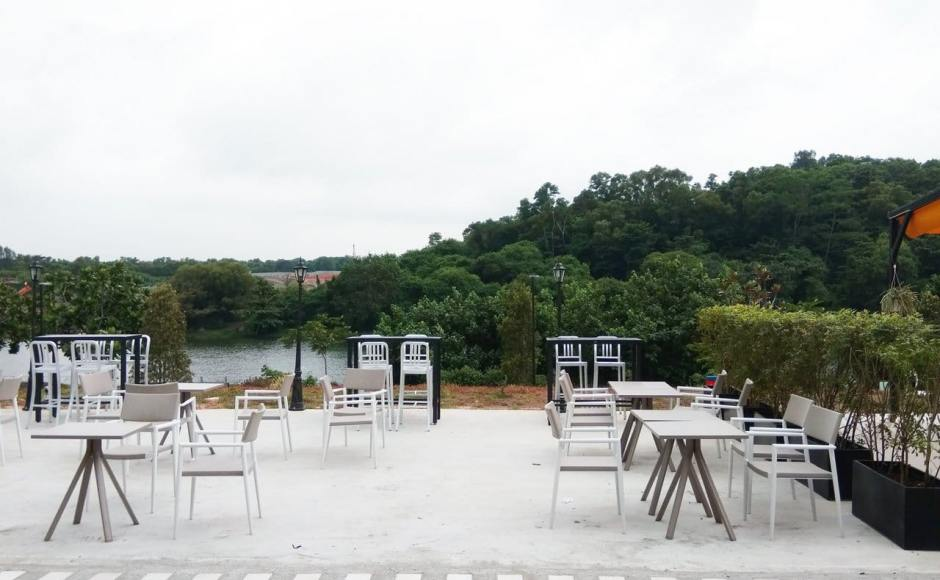 Seoul Good - Punggol East | Product Seen: [Native Barchair Aluminium, Mugler Armchair, Vigor Table – Square 600 & Hiro Outdoor Bartable – Rectangle]
