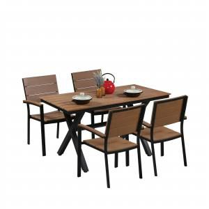 Fossil Rect Outdoor Dining Table - Bundle 3