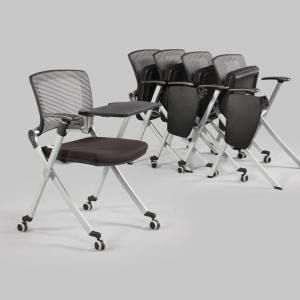Dynamo Tablet Armchair w/ Castors (Nestable)