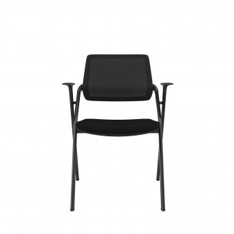 Era Armchair w/ Fixed Glides (Nestable)