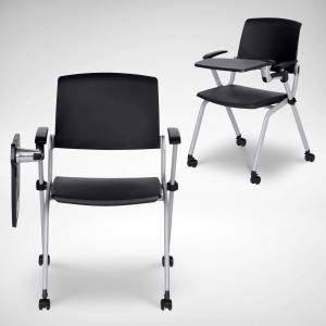 Grimm Seminar Side/Arm Chair – Tablet Castors (Nestable) - V2