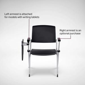 Grimm Seminar Side / Arm Chair – Tablet (Nestable) - V2