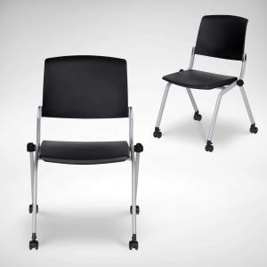 Grimm Seminar Side Chair – Castors (Nestable) - V2