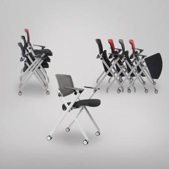 Putra Armchair with Castors (Nestable)