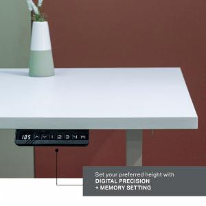 Tito Dual-Sided Height Adjustable Table Leg