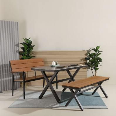 Sintered x Fossil Dining Table - W1400