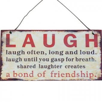 Plaque – Laugh